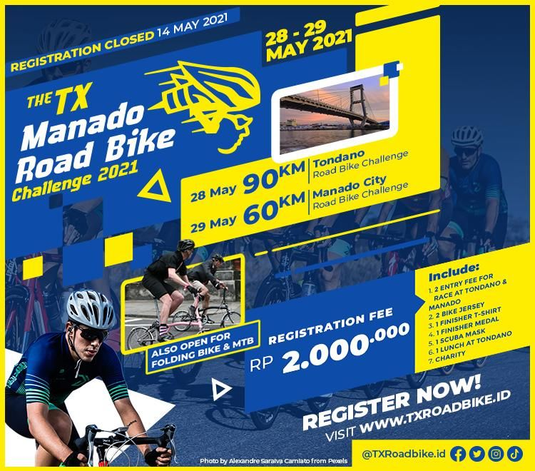 Transvision menggelar wisata olahraga yaitu ajang balap sepeda