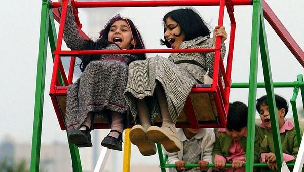 Kuwait. Kuwait menerapkan larangan dari India sejak 24 April. Joe Raedle/Getty Images