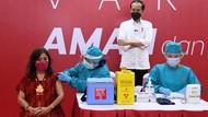 Jokowi Minta Warga Tak Tolak Vaksin Corona: Jika Ada Kesempatan, Ambil!