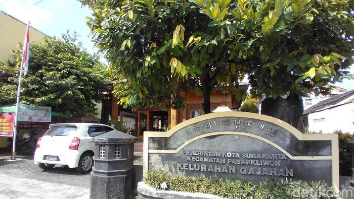 Kantor Kelurahan Gajahan di Solo