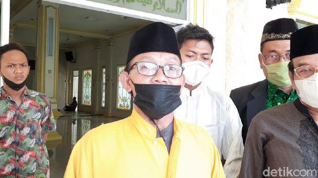 Ketua DKM Masjid Al Amanah, Abdul Rahman