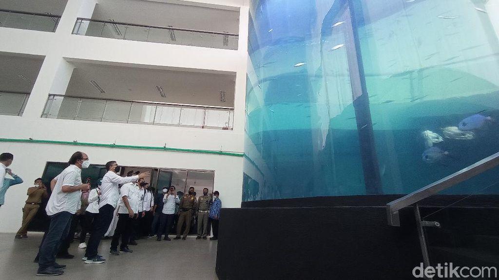 Akuarium PIAMARI Tak Kunjung Beroperasi, Menteri KKP: Perlu Ada Koreksi