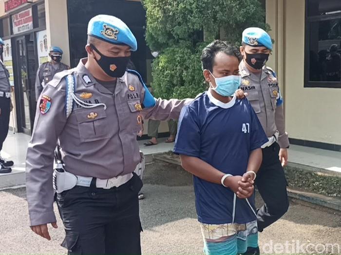 Pelaku penusukan di Kabupaten Bandung.