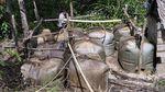 Ini Dia 290 Sumur Minyak Ilegal di Musi Banyuasin yang Ditutup