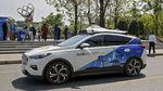 Potret Taksi Tanpa Pengemudi yang Wara-wiri di Jalanan China