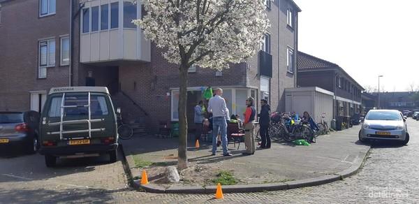 Tampak depan mushala kecil SGB di Utrecht