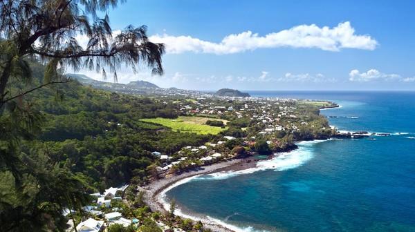 Para peneliti kini tengah berusaha memecahkan misteri mengapa terjadi begitu banyak serangan hiu di Pulau Reunion. Angkanya terus naik dari tahun ke tahun. (Getty Images/iStockphoto/Infografick)