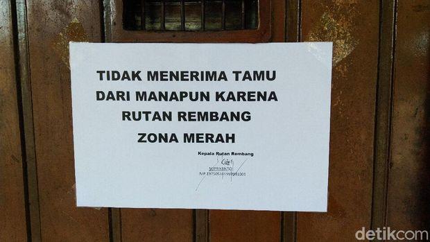 Rumah Tahanan (Rutan) kelas II B Rembang, Senin (3/5/2021).