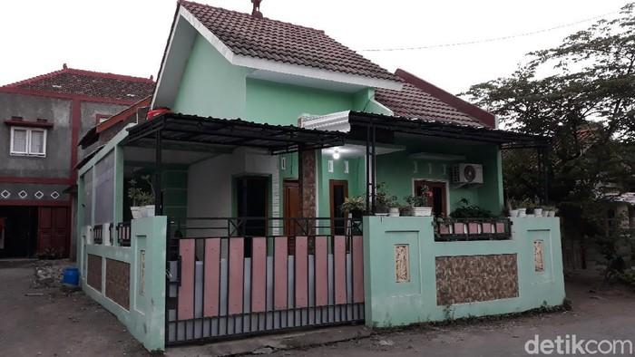 Rumah tersangka kasus takjil sianida, Nani, di Pedukuhan Cepokojajar, Kalurahan Sitimulyo, Kapanewon Piyungan, Kabupaten Bantul, Senin (3/5/2021).