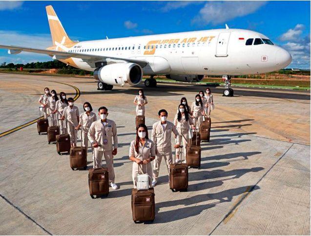 Super Air Jet resmi mendarat di Indonesia. Maskapai ini merupakan penerbangan swasta yang menargetkan kalangan milenial.