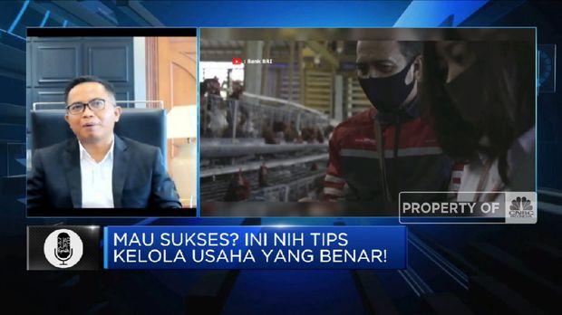 Tips Kelola Usaha Yang Benar Dari Direktur Kepatuhan BRI(CNBC Indonesia TV)