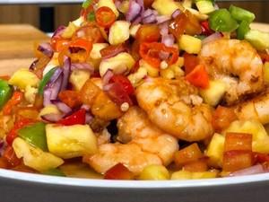 Masak Masak:  Udang Sambal Salsa yang Gurih Segar Bikin Ketagihan