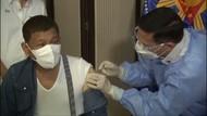 Disiarkan Langsung, Presiden Filipina Disuntik Vaksin Sinopharm