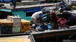 Hiruk Pikuk Puncak Arus Mudik di Cilincing Jakut