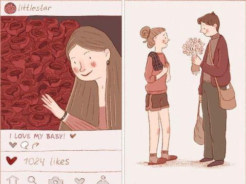 Ilustrasi perbedaan cinta atau nafsu