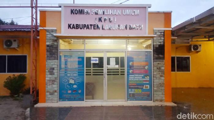 Ketua KPU Labuhanbatu, Wahyudi (Ahmad Fauzi Manik/detikcom)