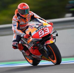MotoGP Prancis 2021: Marquez Crash Saat Pimpin Race