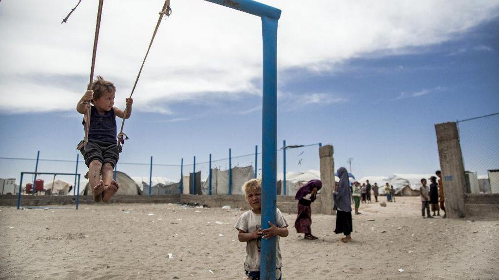 Mengintip Kamp Pengungsian Keluarga ISIS di Suriah