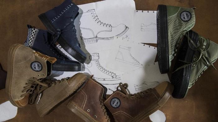 Siapa bilang Indonesia tidak punya produk sepatu keren. Saat ini, geliat produk lokal sedang berkembang pesat, salah satunya sneakers yang mulai bermunculan. Di antara brand-brand lokal itu ada nama Exodos57 yang menyita perhatian khalayak dengan desain yang unik dan berkarakter.