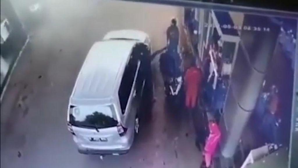 Salip Mobil Polisi Berujung Ancaman Penembakan ke Pemuda di Lebak