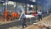 Miris, Jenazah Corona di India Hanyut di Sungai-Ditinggal di Krematorium