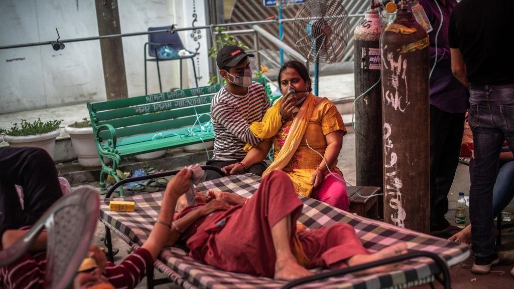 Ratusan Kasus Jamur Hitam, India Dirikan Bangsal Khusus Pasien Mucormycosis