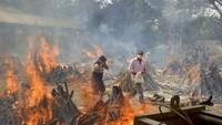 Krisis Masih Berlanjut, Kematian Corona di India Tembus Seperempat Juta!