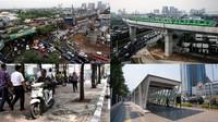Potret Wajah Ibu Kota Sesudah dan Sebelum ada MRT Jakarta