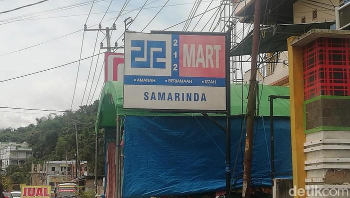 212 Mart di Samarinda (Budi Kurniawan/detikcom)