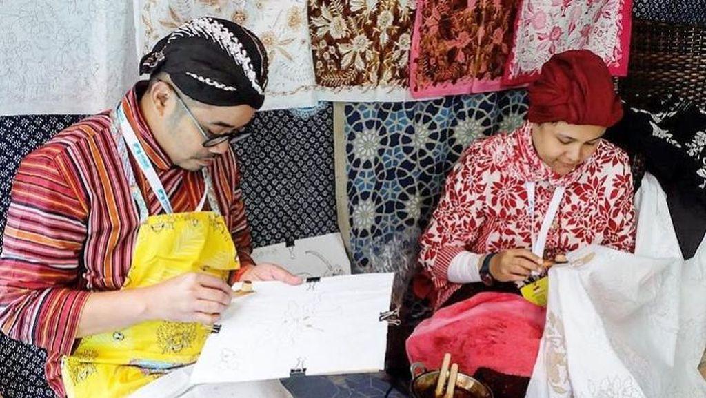 Strategi Pertamina Dorong UMKM Batik Tembus Pasar Turki hingga Afrika