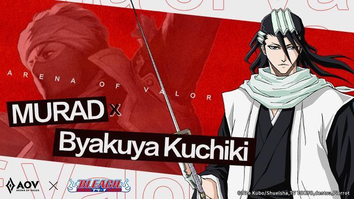 Dengan Kekuatan Senbonzakura, Ini Tampilan Skill Byakuya Kuchiki di AOV