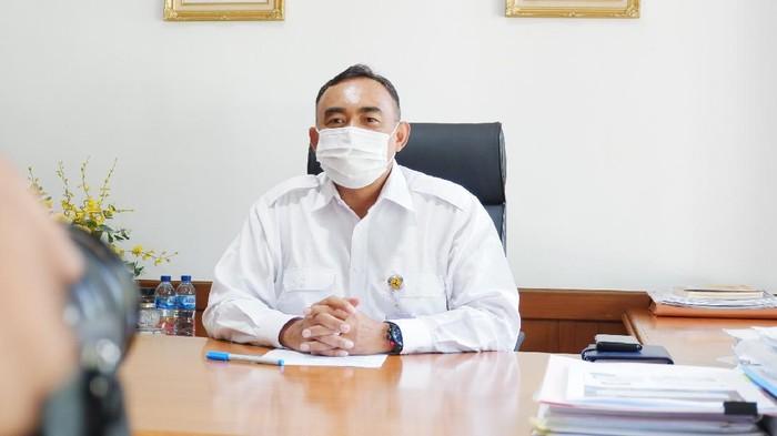 Direktur Bina Teknik Sumber Daya Air Prof Eko Winar Irianto