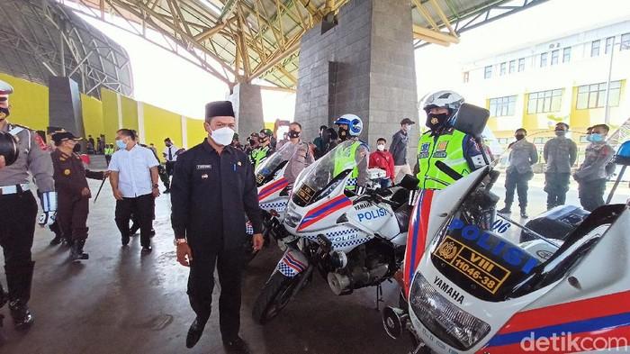 Gelar Pasukan Operasi Ketupat Lodaya 2021 di Kabupaten Bandung