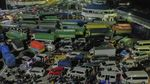 Jelang Larangan Mudik, Ratusan Kendaraan Menyebarang ke Sumatera