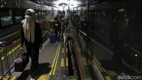 2.852 Orang Naik Kereta di Hari Pertama Larangan Mudik