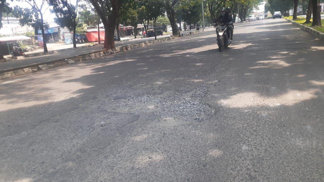 Jl Tegar Beriman, Kabupaten Bogor, 5 Mei 2021. (Afzal Nur Iman/detikcom)