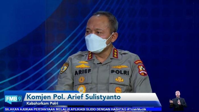 Kabaharkam Polri Komjen Arief Sulistyanto