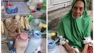 Nenek Penjual Kopi di Stasiun Palmerah Ini Hidup Sebatang Kara