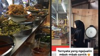 Jawaban Kocak Penjual Makanan hingga Penjual Nasi Padang Cantik