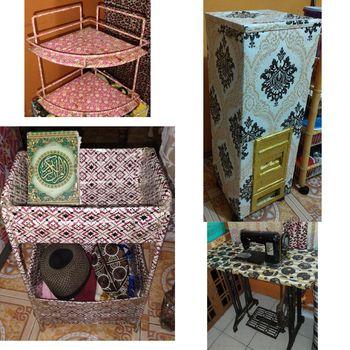 Perabotan rumah tangga yang dibungkus kertas kado viral di TikTok.