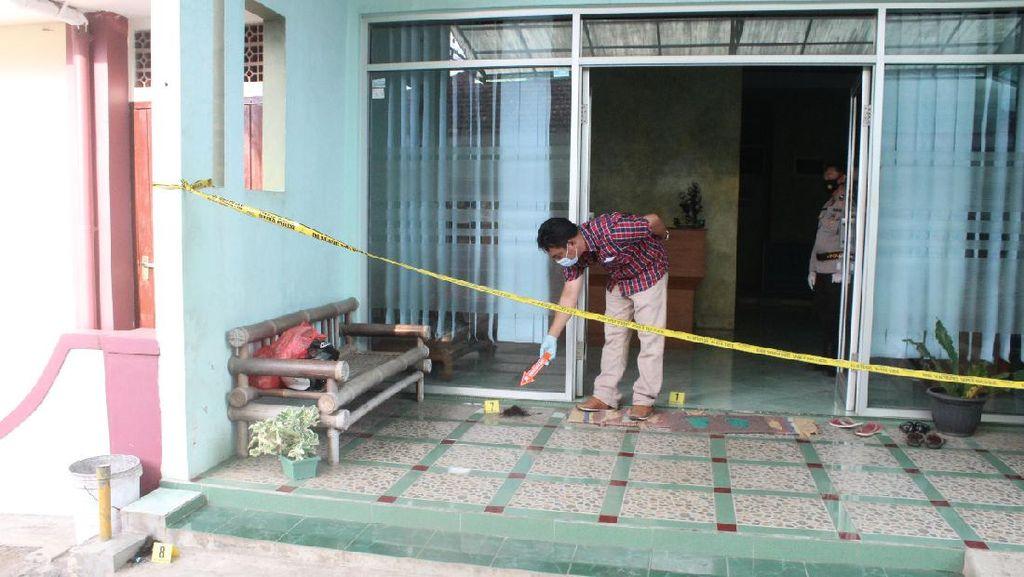 Orang yang Diduga Pembakar Perawat Cantik di Malang Terekam CCTV