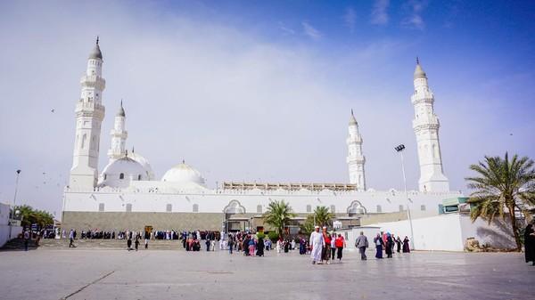 Masjid Quba didirikan Rasulillah SAW saat perjalanan hijrahnya dari Makkah ke Madinah. (iStock)