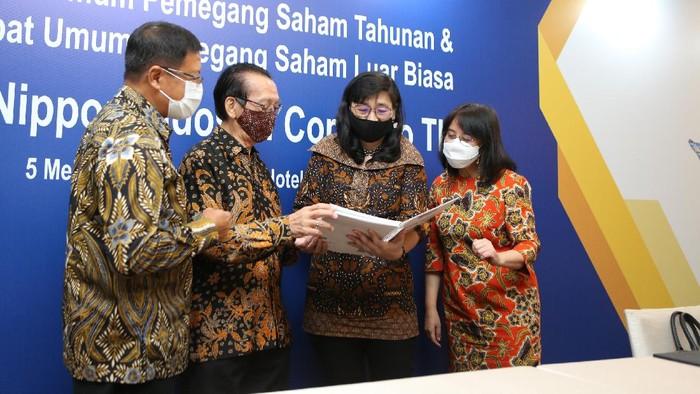 PT Nippon Indosari Corpindo Tbk (Sari Roti) gelar RUPS. Pemegang saham menyetujui pembagian dividen tunai sebesar Rp 300 miliar.