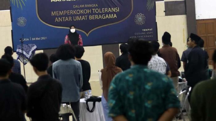 Badan Eksekutif Mahasiswa Universitas Muhammadiyah Tangerang (UMT) gelar silaturahmi & konsolidasi mahasiswa se-Banten. Hal ini untuk memperkokoh toleransi umat beragama.