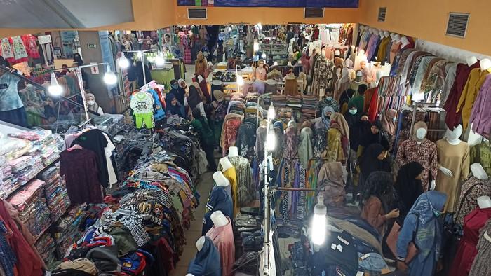 Suasana di Pasar Aceh pada Rabu (5/5/2021)