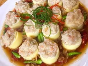 Masak Masak : Tahu Sutera Topping Seafood yang Gurih Mantap