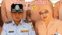 Viral Kisah Sedih Dulu Istri Pejabat, Kini Jadi Driver Ojol di Cirebon
