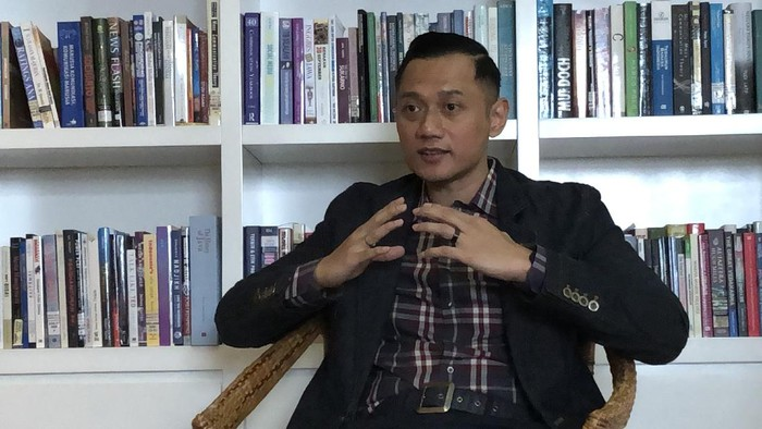 Ketua Umum Partai Demokrat, Agus Harimurti Yudhoyono