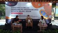 Kemenparekraf Ingatkan Lagi Protokol Kesehatan di Wisata Arung Jeram