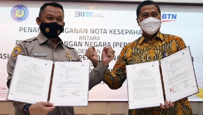 Asosiasi Badan Usaha Jasa Pengamanan Indonesia (ABUJAPI) bekerjasama dengan BTN untuk memberikan kemudahan Satpam dalam memiliki Rumah secara KPR.